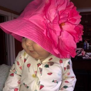 Other - Handmade flower hat for babies